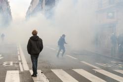 Manifestation contre les violences policières - Toulouse, février 2015