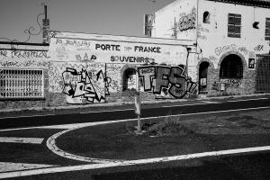 Porte de France frontière